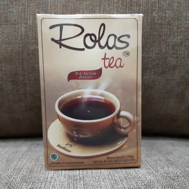 Rolas Tea Teh Mutu 1 Teh Hitam Bubuk Shopee Indonesia