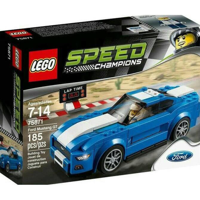Mustang 75871 ChampionFord Harga Promo Gt Paling Ramadhan Murah Lego Banting Speed TKJlF1c