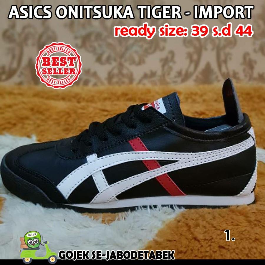 the latest 624c3 a961b sepatu asics onitsuka tiger import sepatu pria   Shopee ...