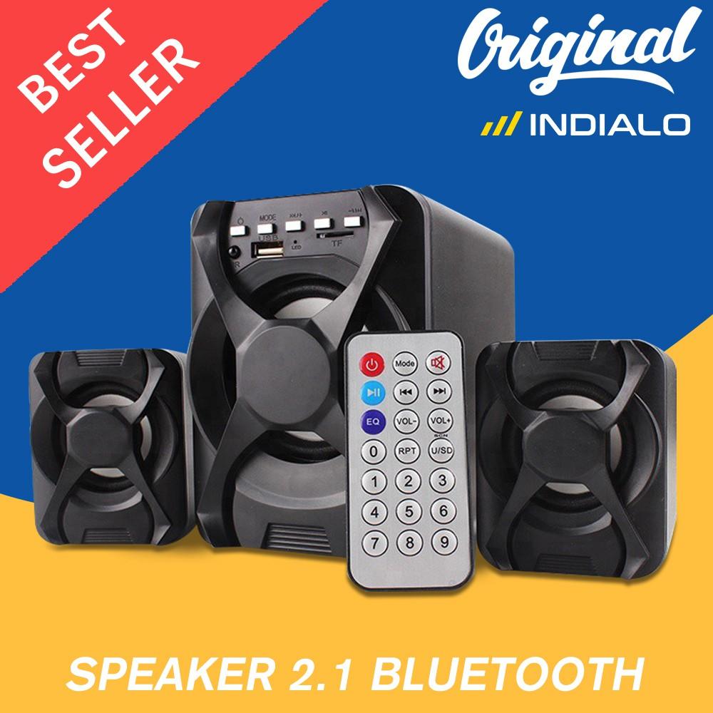 Speaker 2 1 Bluetooth U 2500bt Gaming Speaker X Audio 2 1 With Super Bass 1 Tahun Garansi Resmi Shopee Indonesia