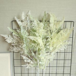 tasong misty bambu daun rumput, bunga buatan, dekorasi