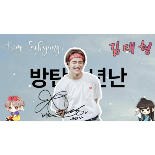 Hand Banner Kpop Custom Shopee Indonesia