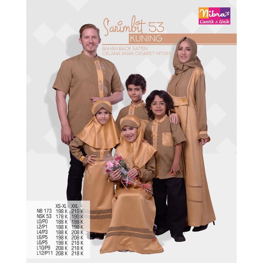 SAHIR & SHERIN Couple keluarga sarimbit muslim seragam baju anak ibu ayah koko gamis murah branded. | Shopee Indonesia