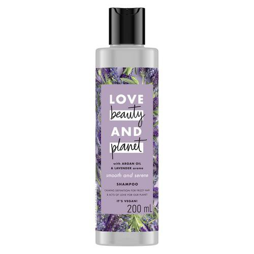 Love Beauty And Planet Vegan Shampoo Argan Oil & Lavender for Frizzy & Calming Hair 200 ml-1