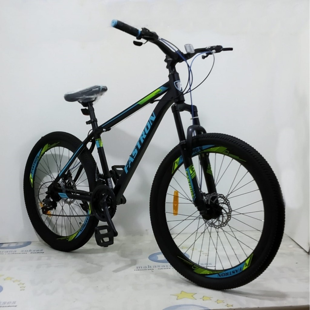 Sepeda Gunung Fastron F260dk Vt Mtb Remaja Dewasa 26 Inci Pelek Tinggi Steel 3x7sp Disc Brake Shopee Indonesia
