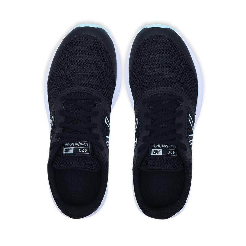 New Balance 420 V1 Women's Running Shoes - Black With Bali Blue