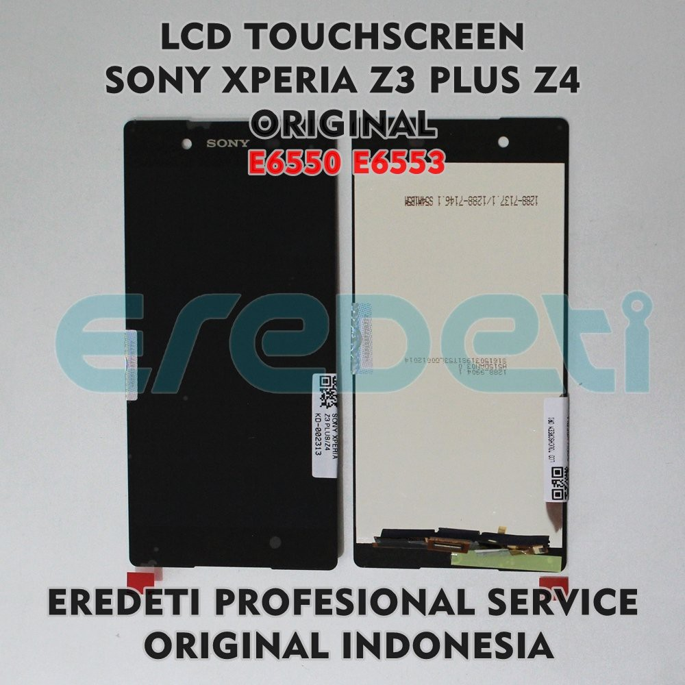 Diskon Lcd Touchscreen Sony Xperia Z3 Plus Z4 E6550 E6553 Original Fullset Putih Kd 002313 Hitam Shopee Indonesia