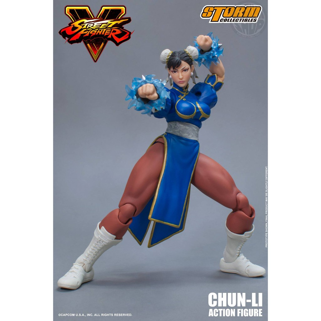 Storm Collectibles Street Fighter V Chun Li Shopee Indonesia