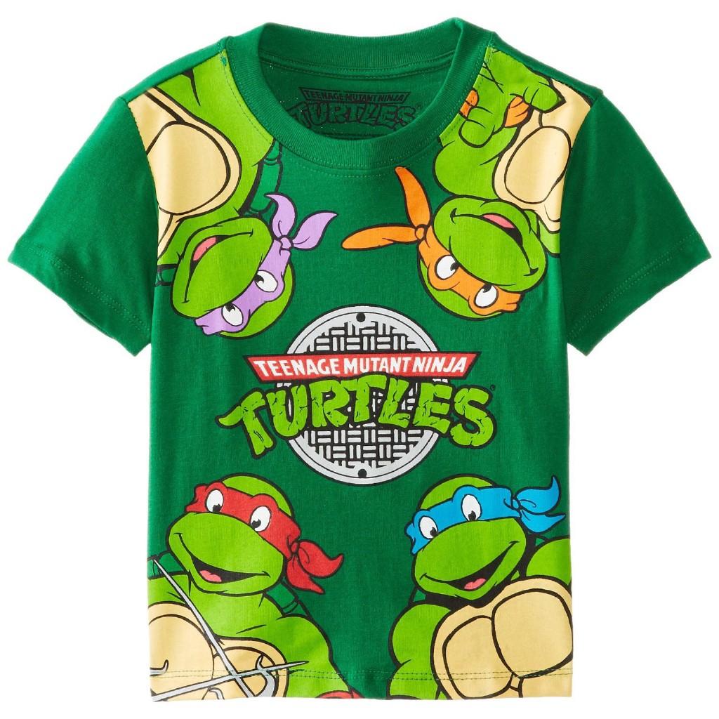 Kaos T Shirt Ninja Turtle Lengan Pendek Gambar Kartun