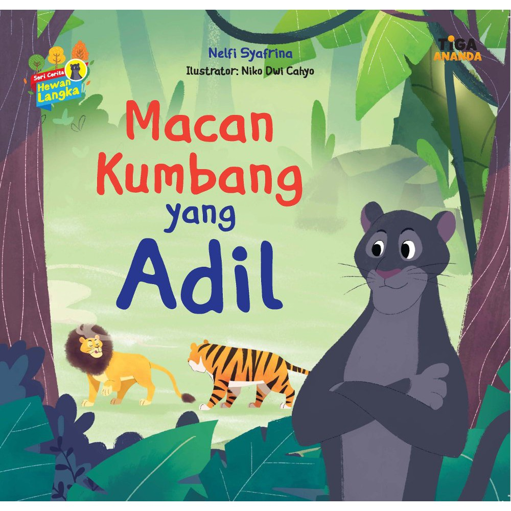 Seri Cerita Hewan Langka 5buku Macan Kumbangkangurujalak Balibadak Sumatraanoa At Rp 25000