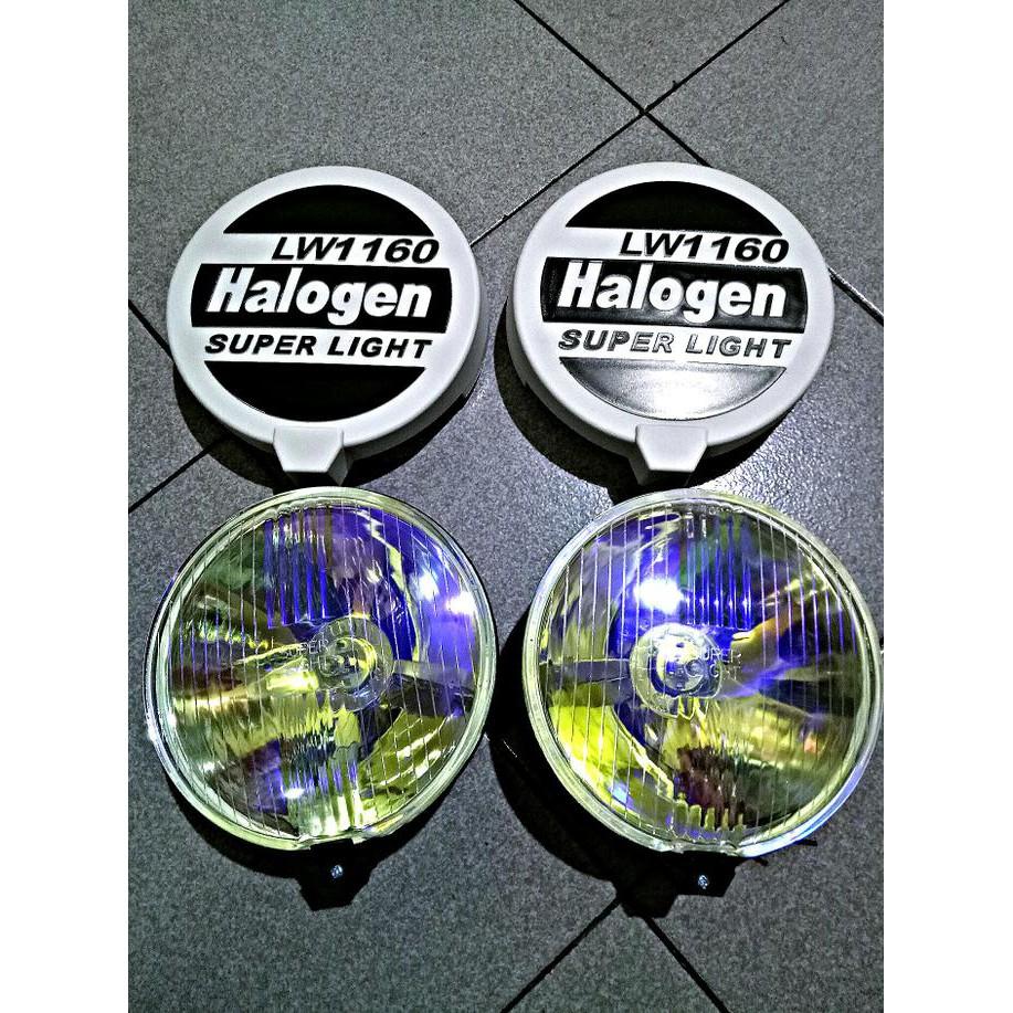 Termurah Lampu Sorot Lampu Tembak Fog Lamp Bulat 7 Inchi Cover Halogen 3 Shopee Indonesia