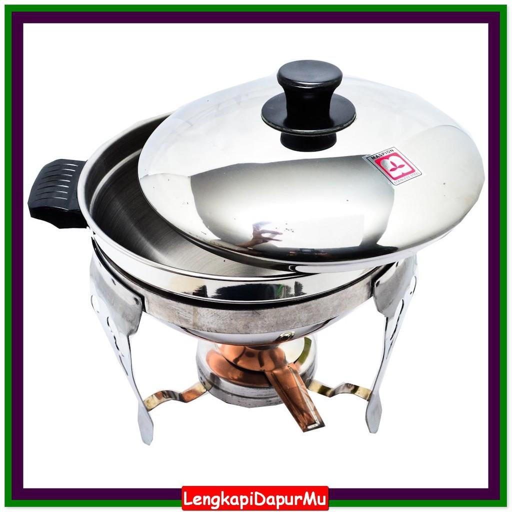 Maspion Ss D 04 Deep Soup Bowl 26 Cm Panci Prasmanan Set Bulat Fryer Aluminium 18 Shopee Indonesia