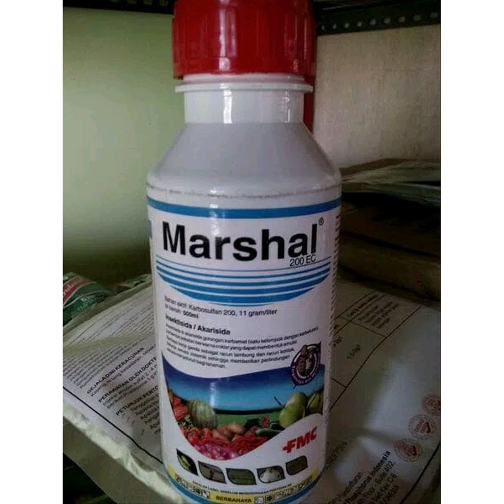 Marshal 500 Ec Insektisida Dan Akarisida 500ml Shopee Indonesia