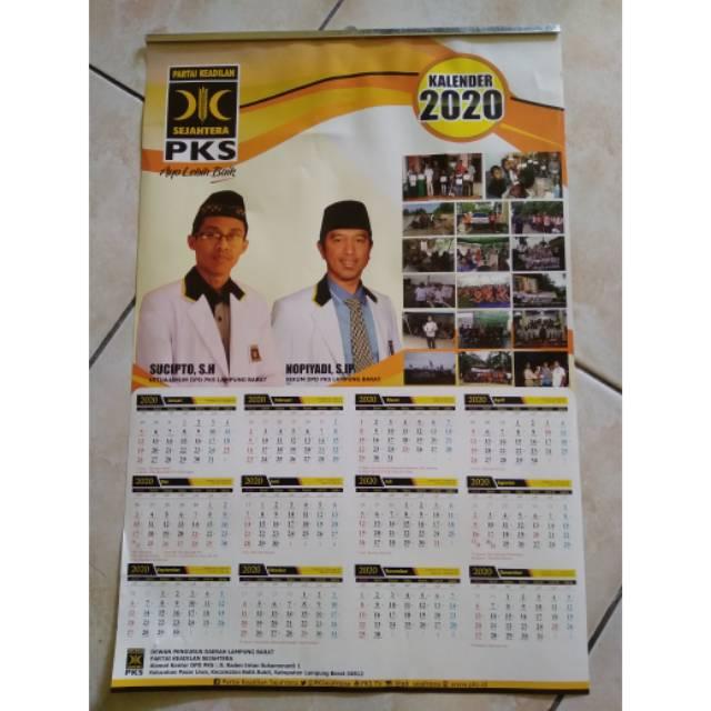 Kalender Dinding 2021 Custom Desain Bisa Request Jumlah ...