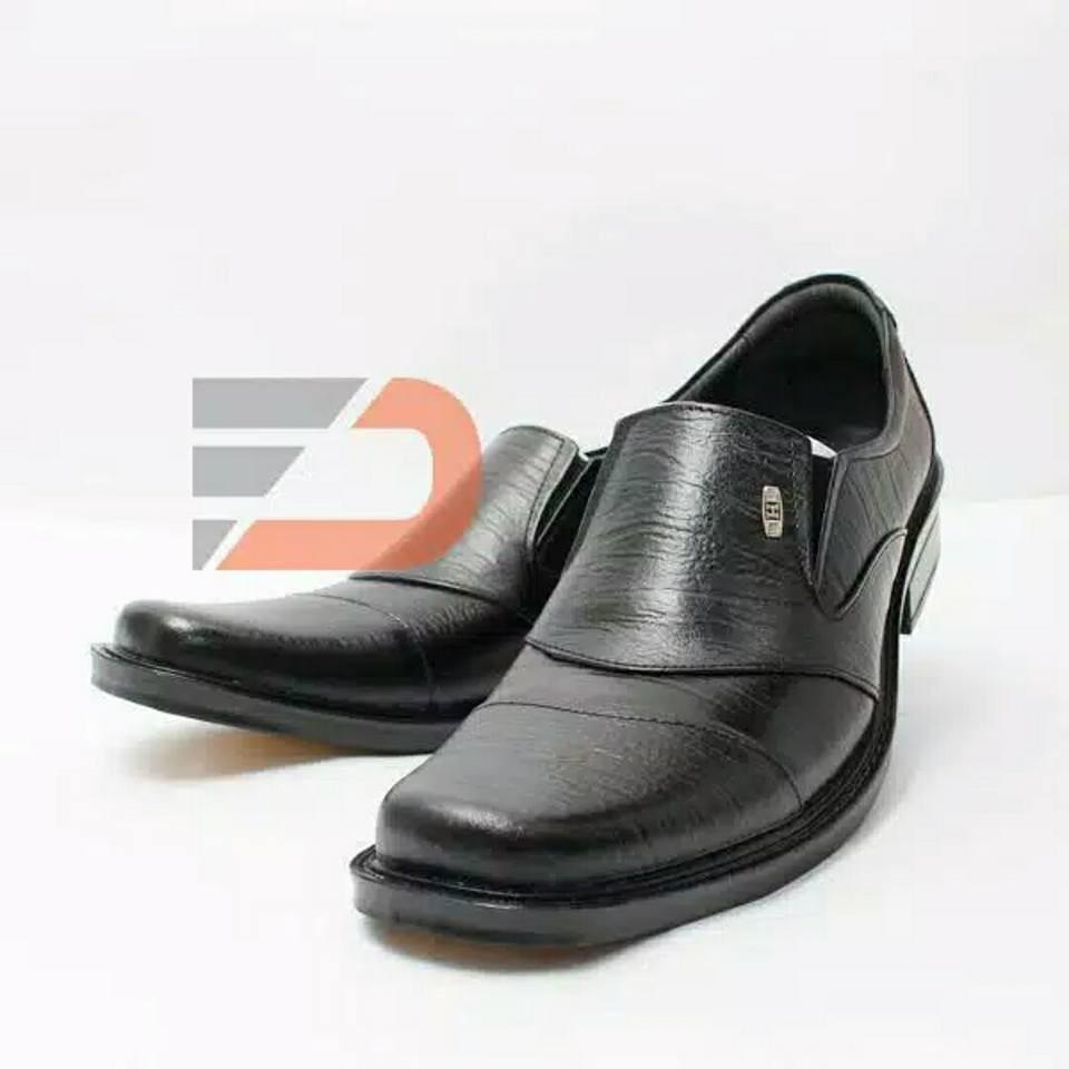 Fdcollection Sepatu Pantofel Bahan Kulit Sapi Asli Gak Uang Selop Kukit Fd 1 Kembali 178 Shopee Indonesia