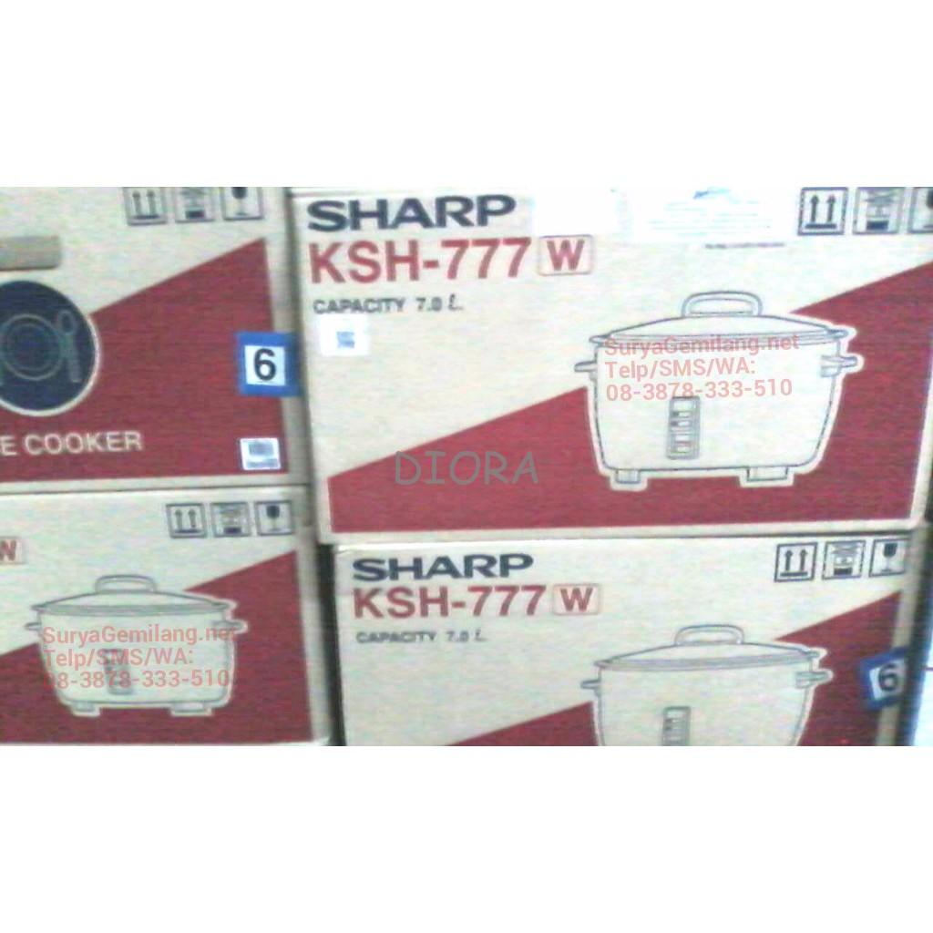 Daftar Harga Sharp Ks N18me C White Rice Cooker Termurah 2018 Automatic Cookware Kn H24ina 800 Watt 24 L Penanak Nasi Garansi Resmi Shopee Indonesia