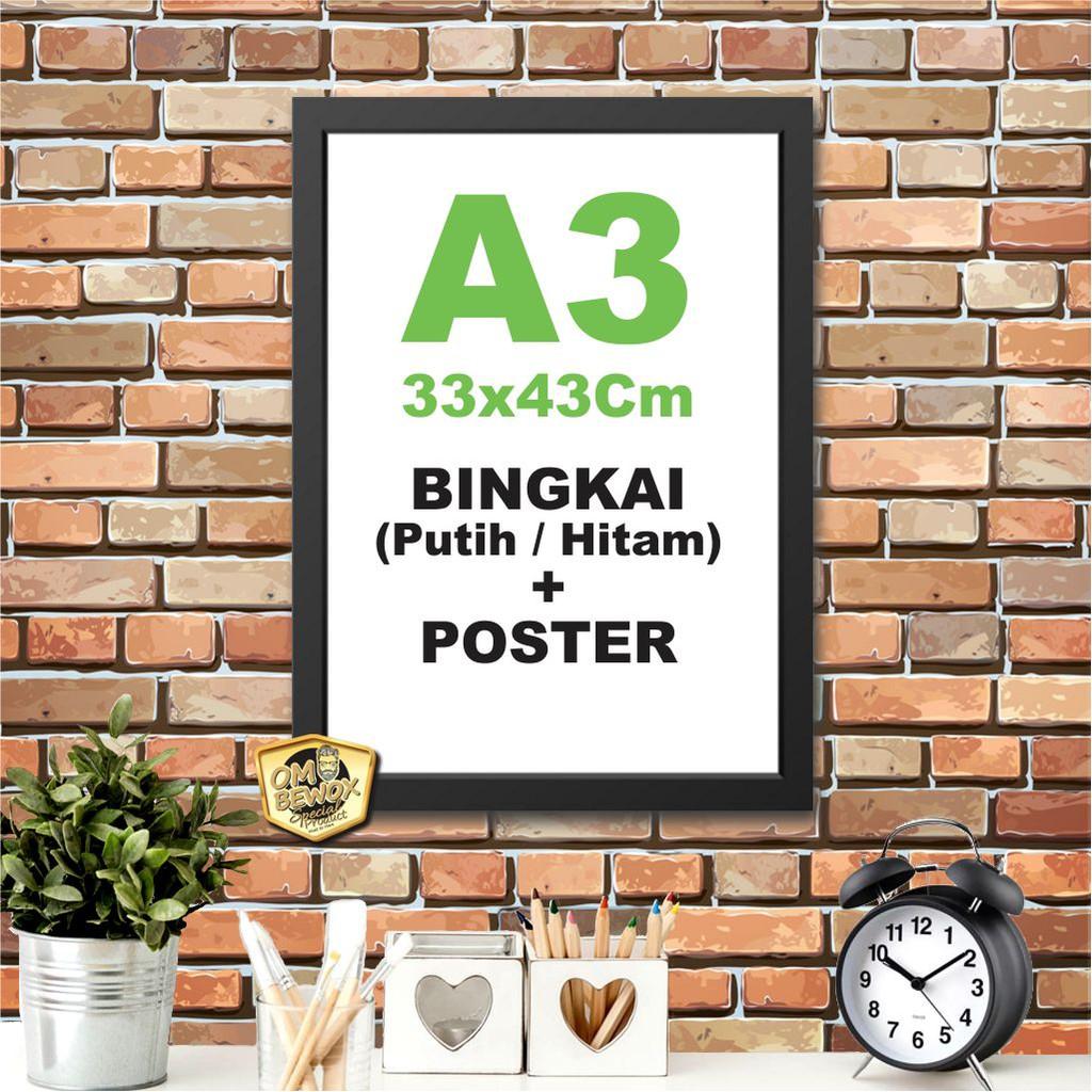 Poster Frame Ukuran A3   Shopee Indonesia