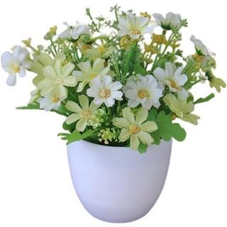 ldg pot19-22 tanaman bunga plastik dekorasi rumah tanaman
