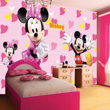 Wallpaper Custom Mickey Mouse Shopee Indonesia