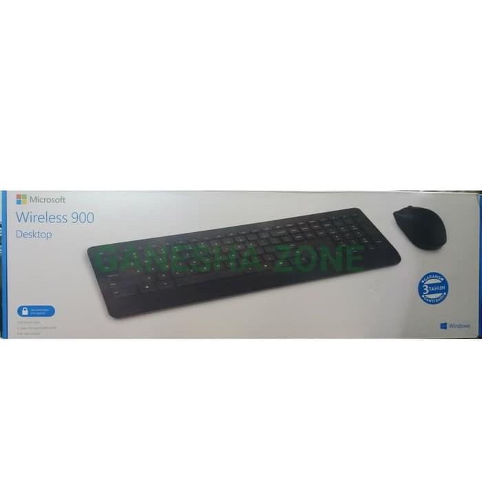 Microsoft Wireless Desktop 900 Microsoft Keyboard Mouse Wireless 900 Shopee Indonesia