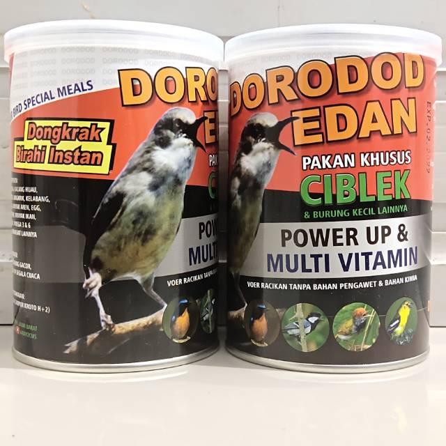 Dorodod Edan Ciblek Pakan Khusus Burung Ciblek Power Up Dan Multi Vitamin Voer Halus Shopee Indonesia