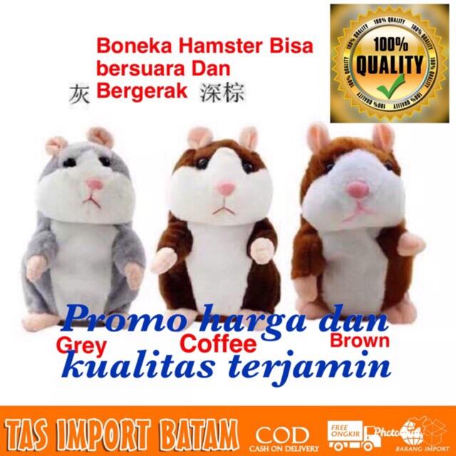 Cod Boneka Hamster Bisa Bergerak Dan Bersuara B011
