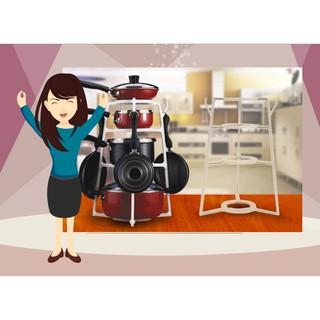 (S) Rak Dapur Portable Gantungan Dapur Rak Wajan Peralatan Dapur Kitchen Set Menggantung Panci Rumah | Shopee Indonesia