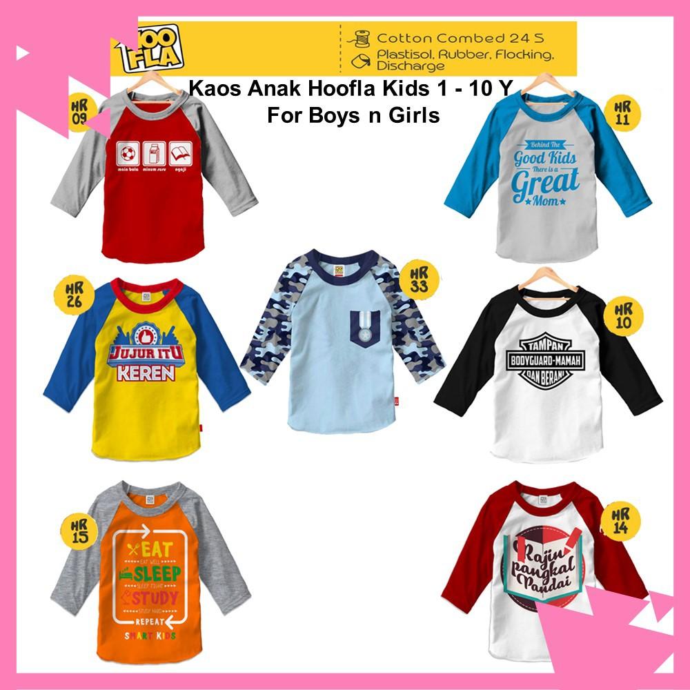 Baju Polos Kaos Anak Cewe Cowo Lengan Pendek Bahan Distro S M L Xl Combed24s Shopee Indonesia