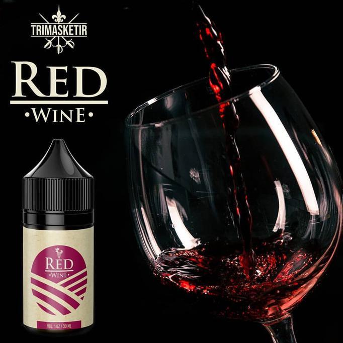 Red Wine 12Mg Freebase Liquid Khusus Pods Original