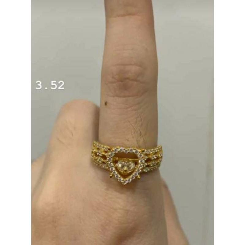 Cincin emas 23 Karat