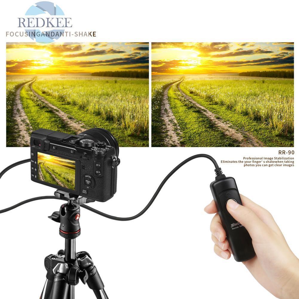 RS-60E3 Timer Remote Shutter Release Cable for Canon 700D//600D//70D//60D//450D #8Y