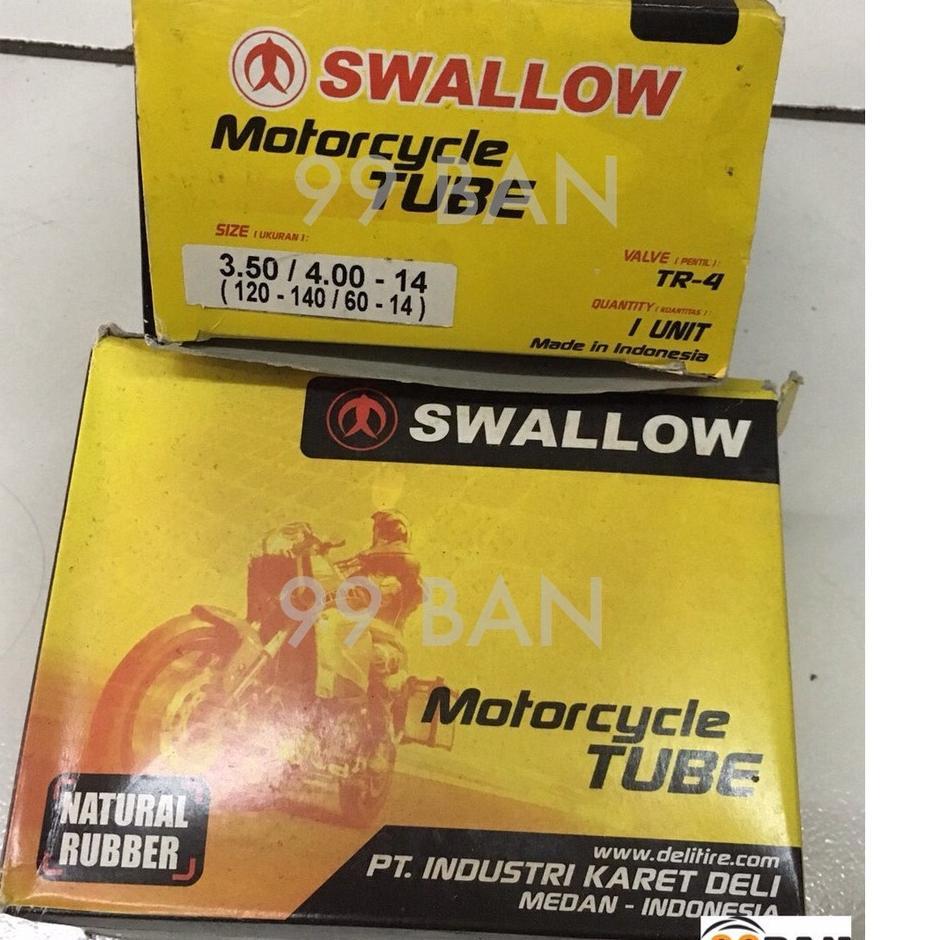 Dijual Murah MWLFH BAN DALAM SWALLOW 350/400-14 | 100/80-14 | 110/80-14, BAN DALAM MOTOR VELG 14 UKU