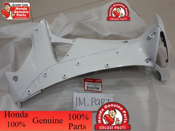 ~ cover tebeng sayap dalam supra x 125 lama 2005 - 2006 putih 64400-KTM-850FMX