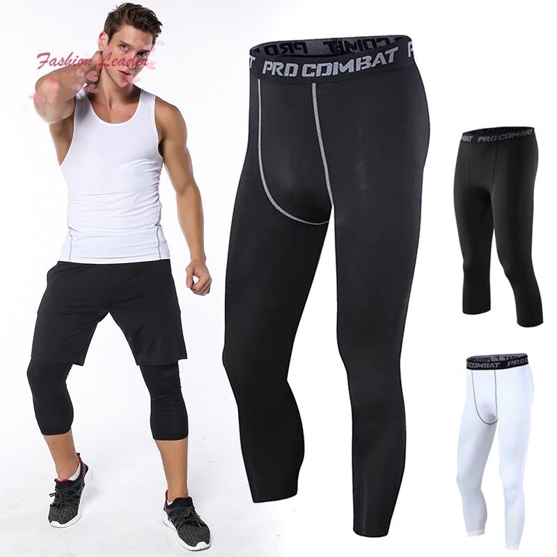 Celana Panjang Legging Elastis Breathable Slim 3 4 Untuk Basket Shopee Indonesia