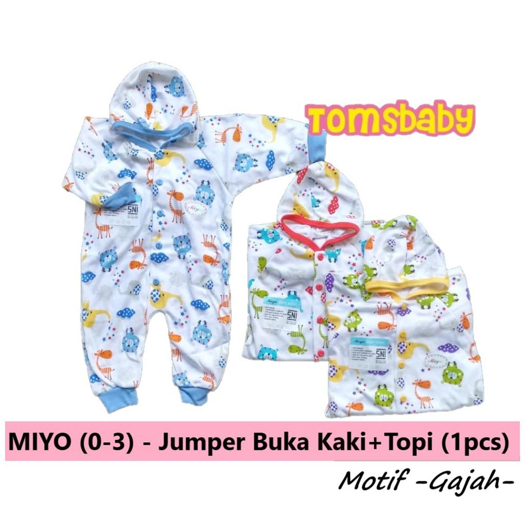 Tomsbaby 0 3bln Miyo Jumper Segiempat Warna Shopee Indonesia Red Baju Kodok 3 Bulan