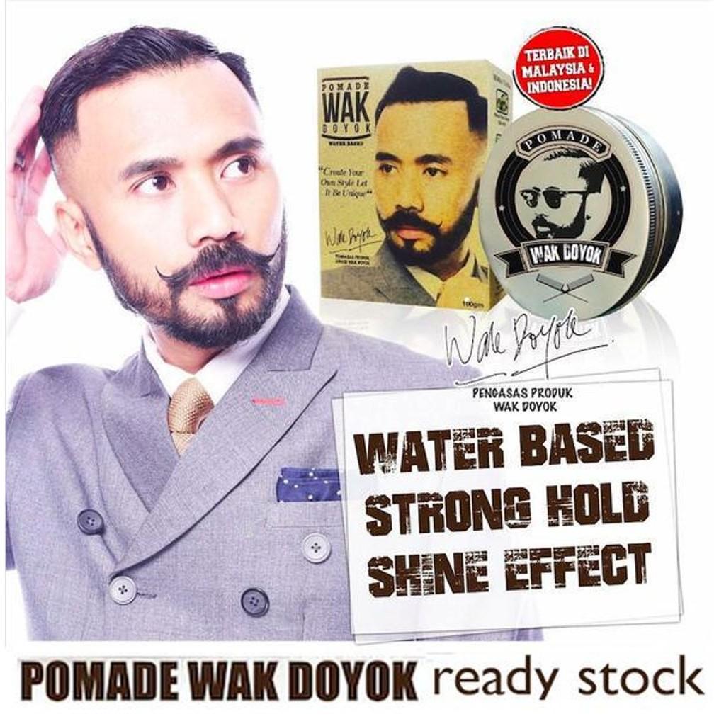 Wak Doyok Cream Dan Pomade Original Hologram Bundle Daftar Harga Sampel 125ml 75ml Shopee Indonesia