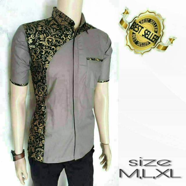 BELI PROMO baju batik pria kemeja batik ~ Toko Online Murah Serba ... b6fd5d4f19