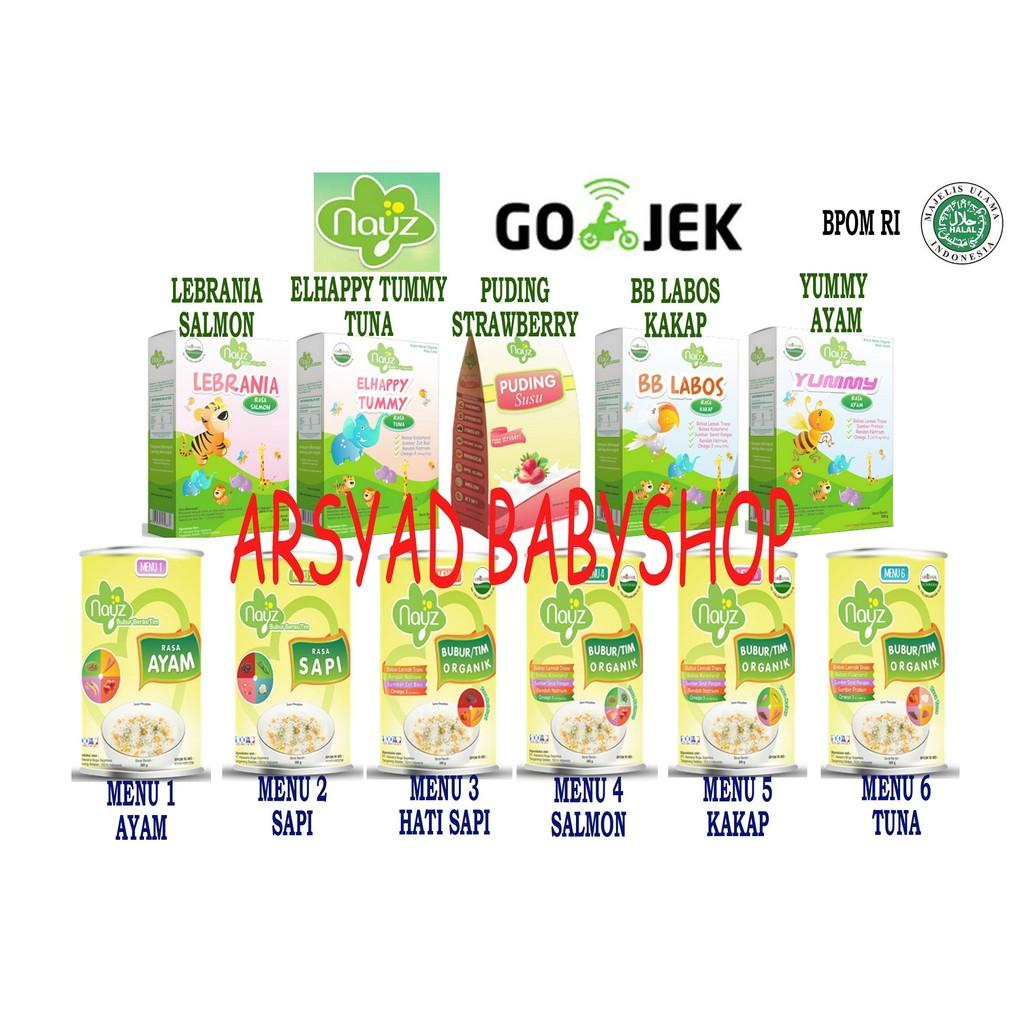 Makanan Bayi Nayz Bubur Organik Mp Asi Olahan Murah Dan Sehat Beras Bebiluck Kemasan Box Shopee Indonesia