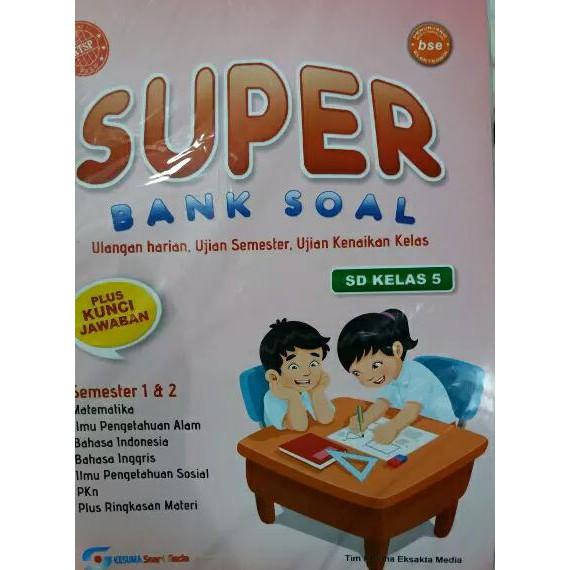 Latihan Soal Super Bank Soal Kelas 5 Sd Kunci Jawaban Shopee Indonesia