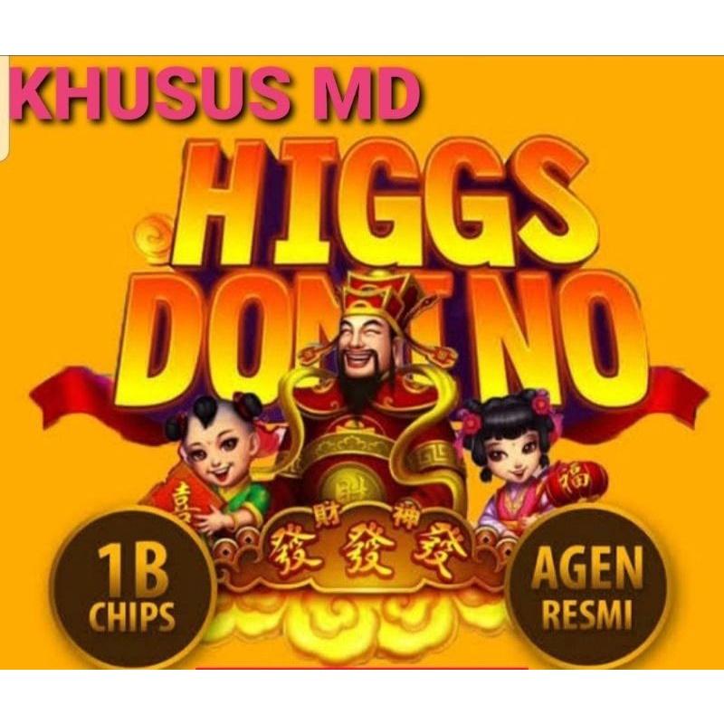 CHIP HIGGS DOMINO 1B (MD UNGU) AGEN RESMI