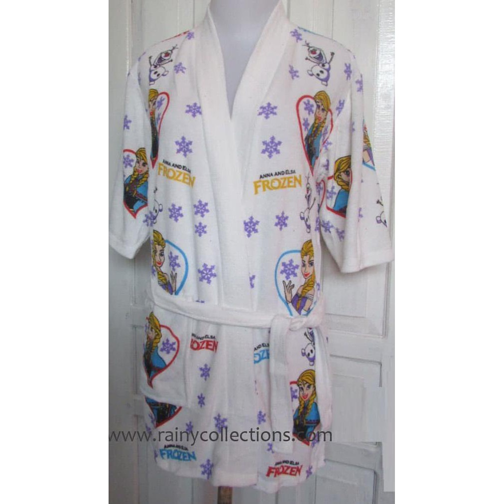 ON SALE Handuk Kimono Karakter Frozen size Anak Tanggung HKK-003 | Shopee Indonesia