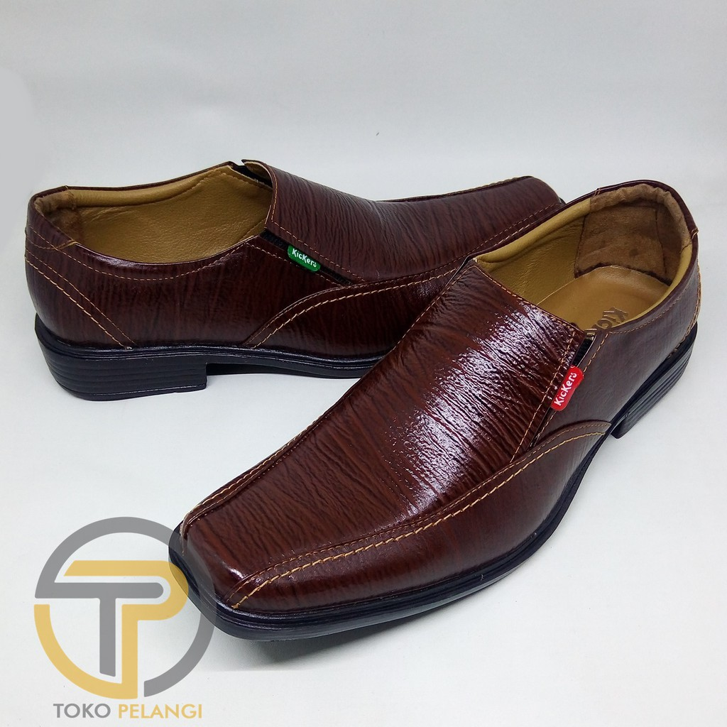 Sepatu kulit pria pantofel kerja variasi terbaru fantofel formal pantopel  kulit asli  4164751233
