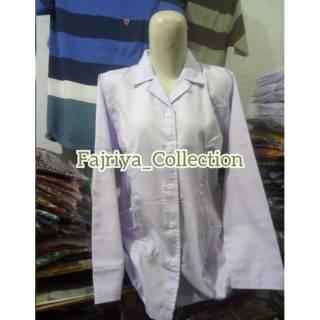 Seragam Putih Pns Baju Pns Perempuan Baju Pns Wanita Dinas Putih Kemeja Putih Pdh Putih Pendek Shopee Indonesia
