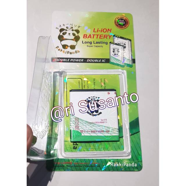 Baterai Rakkipanda for Advan i5C BP-50BH Double Power 4000mAh | Shopee Indonesia
