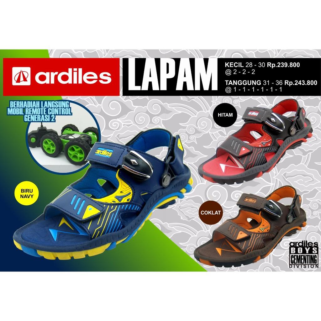 Ardiles Kids Tomtom Sibrgo Sandal 2in1 Berhadiah Mobil Remote Men Cooldots Gunung Biru 39 Sendal Anak Shopee Indonesia