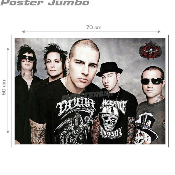 Poster Avenged Sevenfold #38 - Jumbo Size 50 X 70 Cm ..