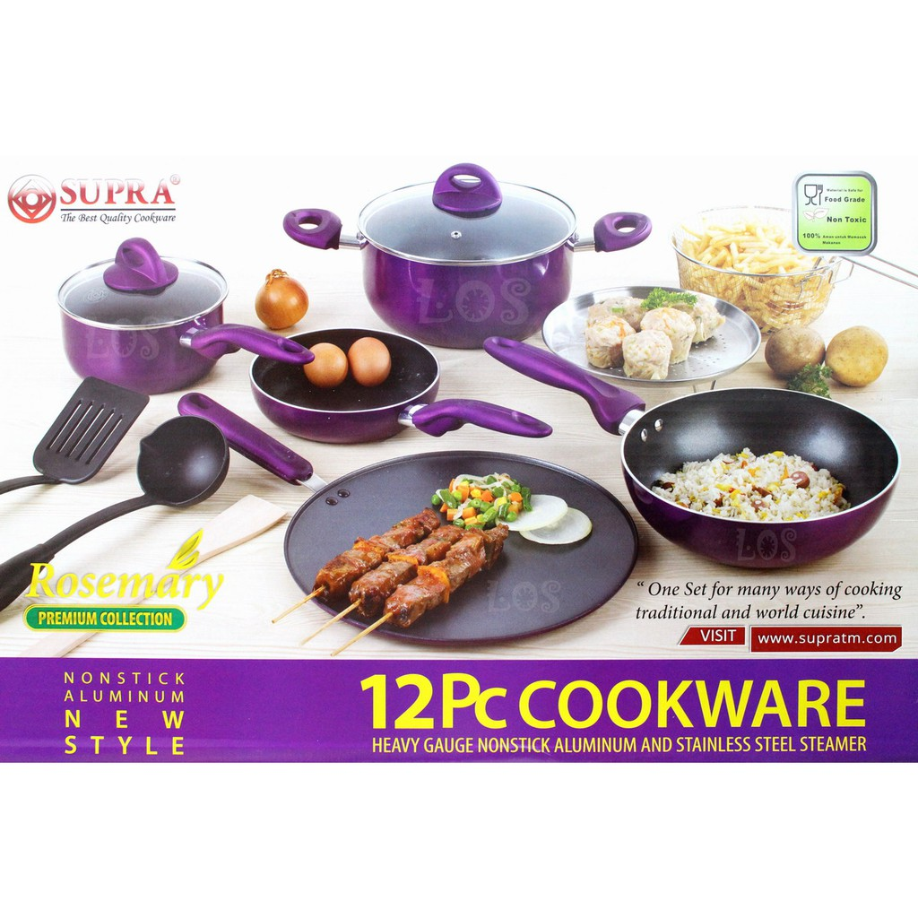 Intercooc frying pan set panci wajan intercook shopee indonesia