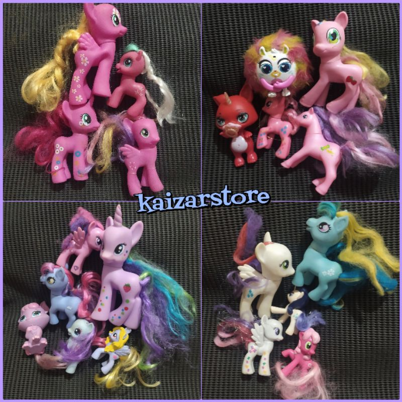 mainan kuda pony my little pony unicorn horse kuda poni
