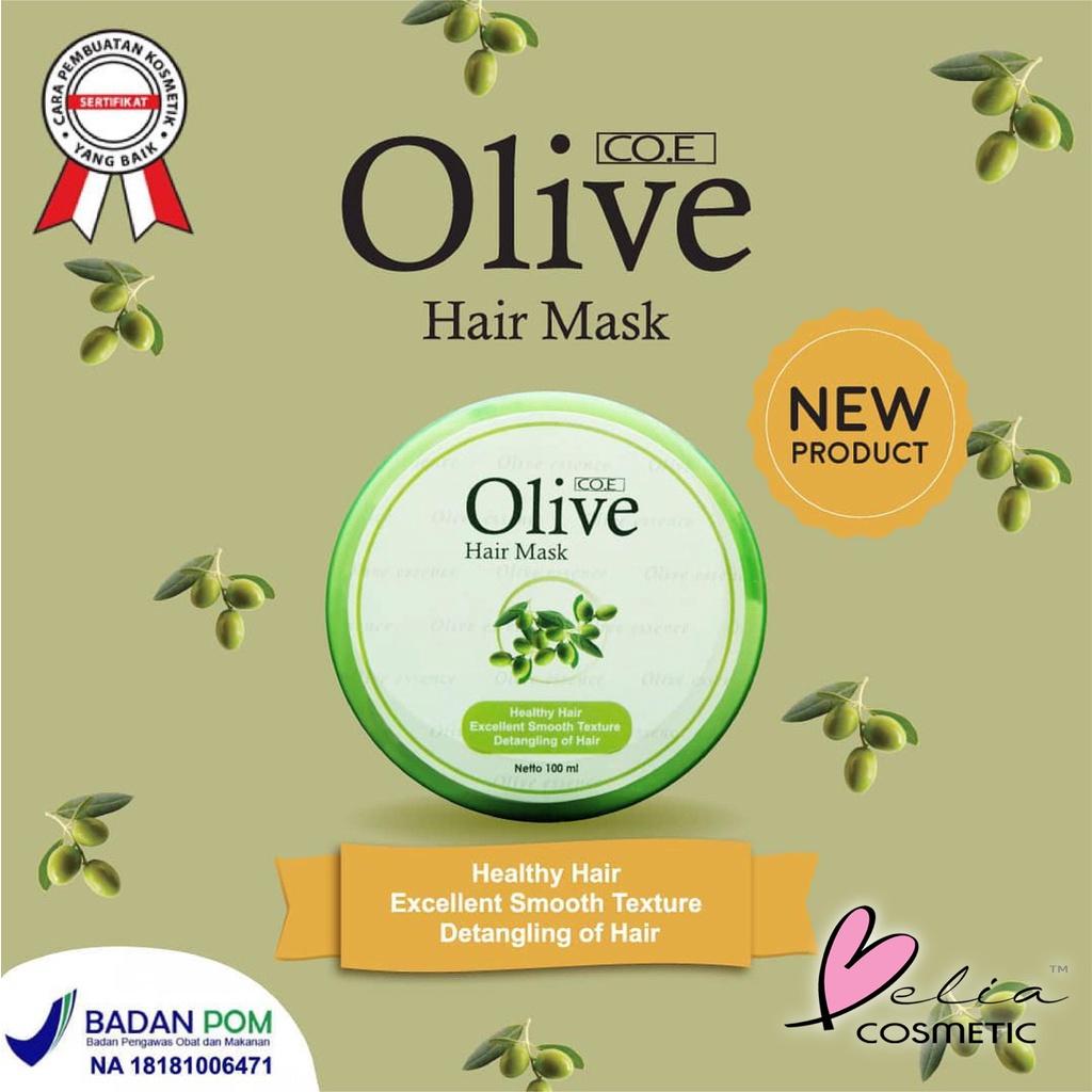 ❤ BELIA ❤ CO.E Olive Hair Treatment | Shampoo | Conditioner | Tonic | Shampo SYB (✔BPOM)-5