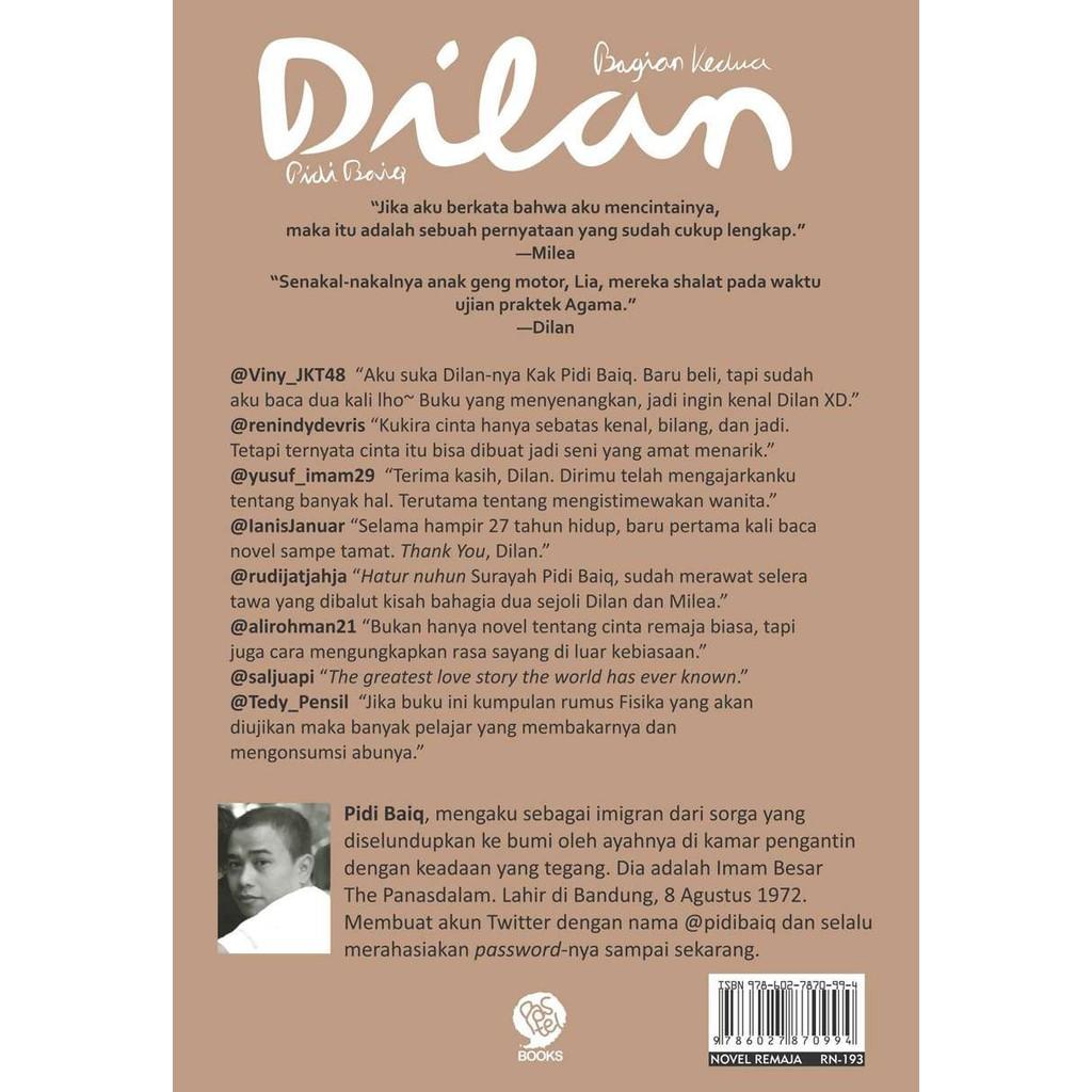 Sinopsis novel dilan